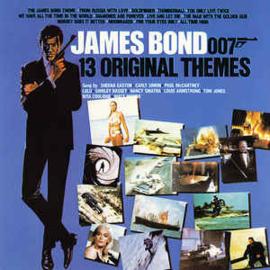Various – James Bond - 13 Original Themes (CD)