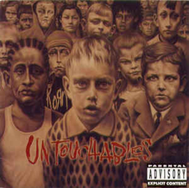 Korn ‎– Untouchables (CD)