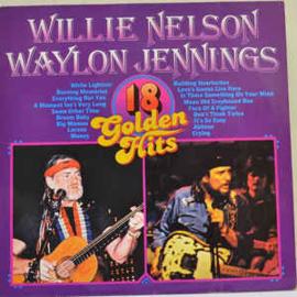 Willie Nelson, Waylon Jennings – 18 Golden Hits