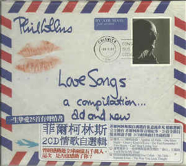 Phil Collins ‎– Love Songs (CD)