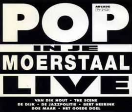 Pop In Je Moerstaal Live (CD)