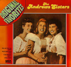 Andrews Sisters ‎– Original Favorites
