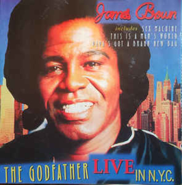James Brown ‎– The Godfather Live In NYC (CD)