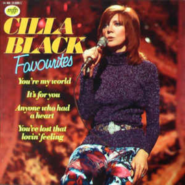 Cilla Black ‎– Favourites