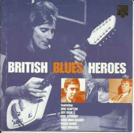 Various ‎– British Blues Heroes (CD)