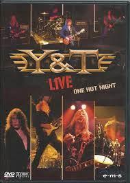 Y & T – One Hot Night (DVD)