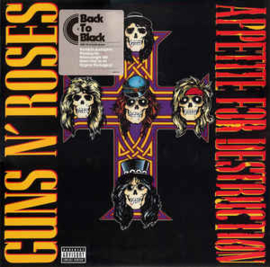 Guns N' Roses ‎– Appetite For Destruction (LP)