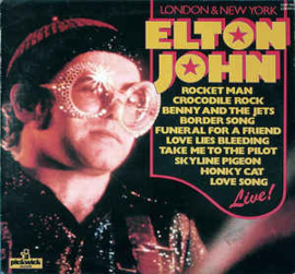 Elton John ‎– London & New York