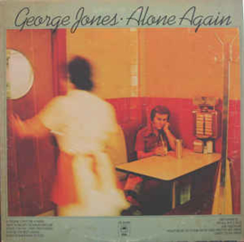 George Jones  ‎– Alone Again