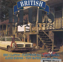 Various ‎– British Blues Invasion (CD)