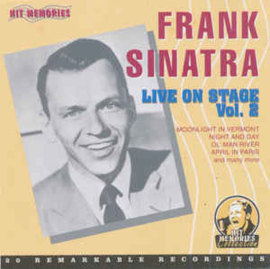 Frank Sinatra ‎– Live On Stage Vol. 2 (CD)