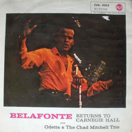 Belafonte – Belafonte Returns To Carnegie Hall