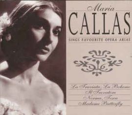 Maria Callas ‎– Maria Callas Sings Favourite Opera Arias (CD)