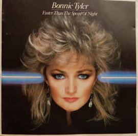 Bonnie Tyler ‎– Faster Than The Speed Of Night (CD)