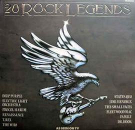 Various – 20 Rock Legends