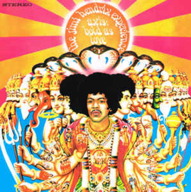 Jimi Hendrix Experience ‎– Axis: Bold As Love (LP)