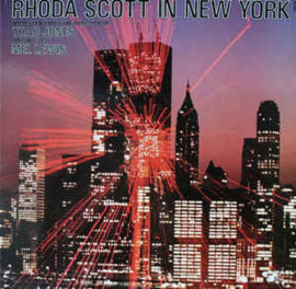 Rhoda Scott Orchestra Under The Direction Of Thad Jones Special Guest Mel Lewis ‎– Rhoda Scott In New York