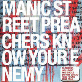 Manic Street Preachers ‎– Know Your Enemy (CD)