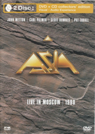 Asia – Live In Moscow 1990 (DVD)