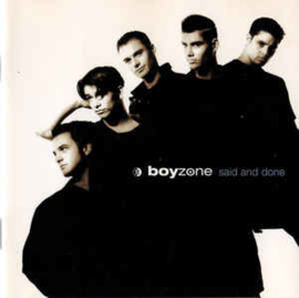 Boyzone ‎– Said And Done (CD)