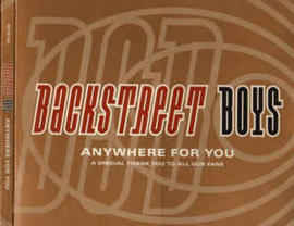 Backstreet Boys ‎– Anywhere For You (A Special Thank You To All Our Fans) (CD)