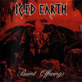 Iced Earth ‎– Burnt Offerings (CD)
