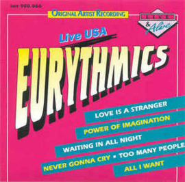 Eurythmics ‎– Live USA (CD)