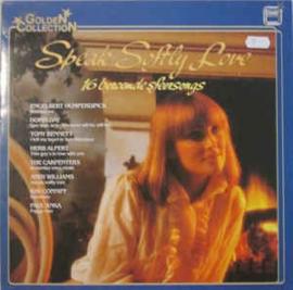 Various – Speak Softly Love (16 Beroemde Sfeersongs)
