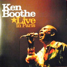 Ken Boothe ‎– Live In Paris (CD)