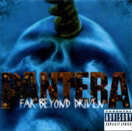 Pantera ‎– Far Beyond Driven (CD)