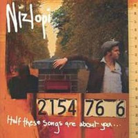Nizlopi – Half These Songs Are About You (CD)
