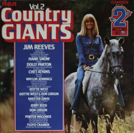 Various ‎– Country Giants Vol. 2