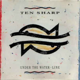 Ten Sharp ‎– Under The Water-Line (CD)