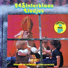 """Various - Kinderkoor """"De Lieverdjes""""* o.l.v. Wim van den Hurk – 24 Sinterklaas Liedjes"""