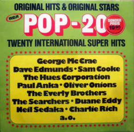 Various ‎– POP 20 - 20 International Super Hits