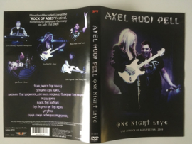 Axel Rudi Pell – One Night Live (Live At Rock Of Ages Festival 2009) (DVD)