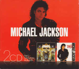 Michael Jackson ‎– Bad / Dangerous (CD)