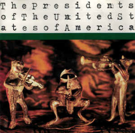 Presidents Of The United States Of America ‎– The Presidents Of The United States Of America (CD)