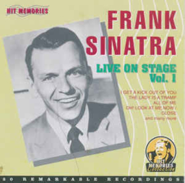 Frank Sinatra ‎– Live On Stage Vol. 1 (CD)