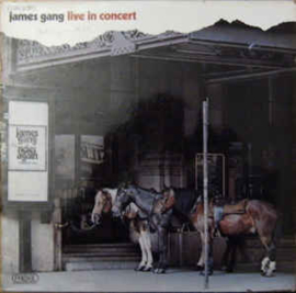 James Gang ‎– Live In Concert