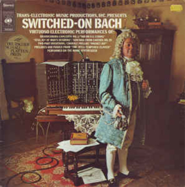 Walter Carlos ‎– Switched-On Bach