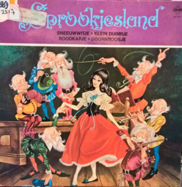 Various – Sprookjesland, 4 Sprookjes In Hoorspelvorm