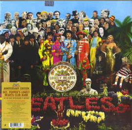 Beatles ‎– Sgt. Pepper's Lonely Hearts Club Band (LP)