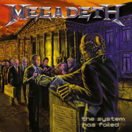 Megadeth ‎– The System Has Failed (CD)