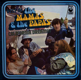 Mamas & The Papas ‎– Best Of The Mamas & The Papas - California Dreamin'