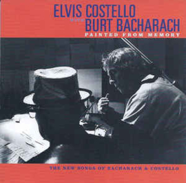 Elvis Costello with Burt Bacharach ‎– Painted From Memory (CD)