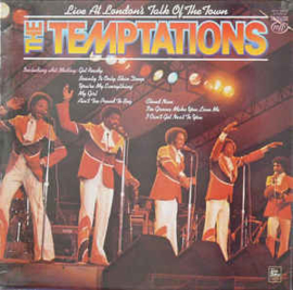 Temptations ‎– Live At The London's Talk Of Town