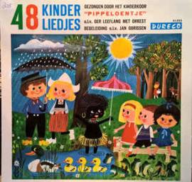 Kinderkoor Pippeloentje – 48 Bekende Kinderliedjes