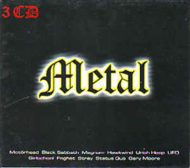 Various ‎– Metal (CD)