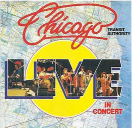 Chicago Transit Authority ‎– Live In Concert (CD)